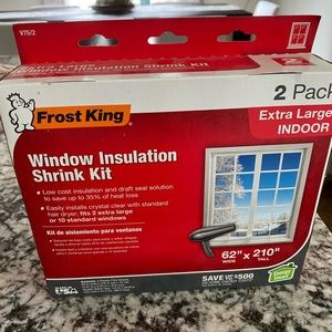 frost window insulation kit